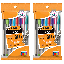 2 FREE BiC Cristal Ball Pens 8-Count Packs