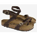 Birkenstock Yara Oiled Leather Sandals $72