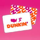 FREE $5 Dunkin' Donuts Gift Card