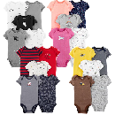 20 Carter's Baby Bodysuits for $29.37