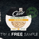 FREE Cesar Wholesome Bowls Sample