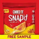 FREE Cheez-It Snap'd Sample