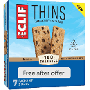 FREE 7-Pack of CLIF BAR Thins