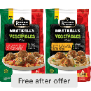 FREE Cooked Perfect Meatballs with Veggies
