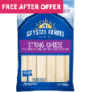 FREE Crystal Farms String Cheese