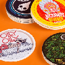 10 Custom 3.7''x3.7'' Coasters for ONLY $1