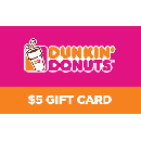 Free $5 Dunkin' Card for T-Mobile/ Sprint
