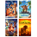 4 Disney movies for just $1