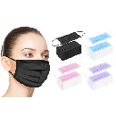 50-Pack Disposable 3-Ply Face Masks $9.99