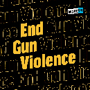 Free End Gun Violence Sticker