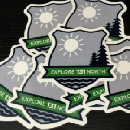Free Decal and Postcard