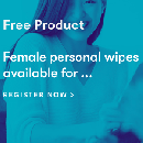 Free Female Personal Wipes Product Testing