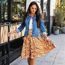 Floral Laura Skirt $15.99
