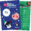 FREE 25 Days of Christmas Sticker Sheet