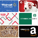 FREE $5 Gift Card of your choice
