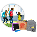 FREE Backpack with School Supplies
