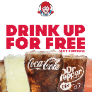 FREE Drink with Any Purchase at Wendy's