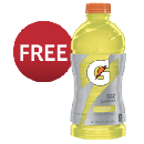 FREE 28 oz Gatorade Drink