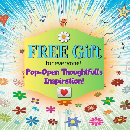 Free Pop-Open Inspiration Card or Decal