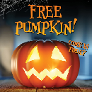 FREE Pumpkin at RC Willey Stores Today