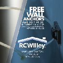 FREE Wall Anchors for your Furniture