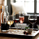 FREE Crate & Barrel Wine Glasses or Mug