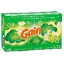 120ct Gain Original Dryer Sheets $2.33