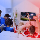 GE Game Day Your Way with GE LED+ Party