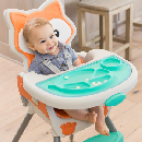 Free Grow-With-Me Convertible High Chair