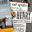 Free Henry Made in America Decals