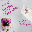 Free Valentine's Day Card from your Pet