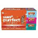 18-Pack Iams Purrfect Delights $7.42