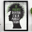 "FREE 8"" x 10"" Illustrated Quote Print"