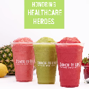 Free Smoothie for Healthcare Workers