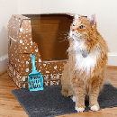 Kitty Poo Club All-in-One Litter Box $17