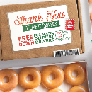 Free Dozen Doughnuts for Delivery Drivers