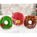 FREE Holiday Doughnut with ANY Purchase