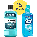 Listerine + ACT Mouthwash ONLY $1.88