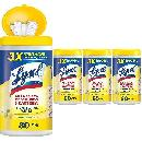 320ct Lysol Disinfecting Wipes $14.72