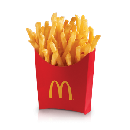 FREE McDonald's Fries w/ $1 Mobile Order
