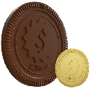 Free Chocolate Coin or Real Gold Coin