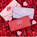 Monogram Wallets $10.99