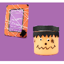 FREE Spider Web Photo Frame and Slime