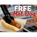 FREE Hot Dog or Roller Grill Item