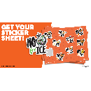 Free No Food for ICE Sticker Pack