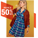 50% Off Dresses for Women and Kids