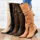 Women's Over-the-Knee Wedge Boots $33.99