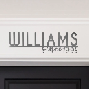 Personalized Family Steel Signs $19.99