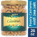 26oz Planters Fancy Whole Cashews $10.03