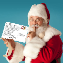 Free Personalized Postcard from Santa